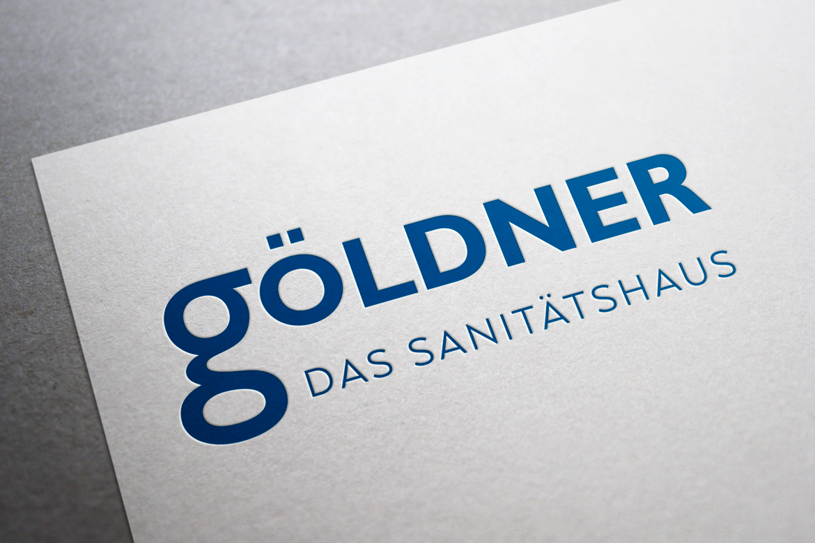 Sanitätshaus Göldner Corporate Design Logo