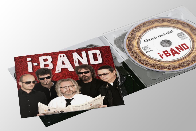 i-Bänd Logo, CDs, Plakate